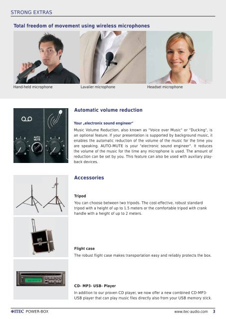 POWER-BOX MOBILE SOUND SYSTEMS - ITEC