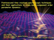 Absorbed optical energy required to suppress SC