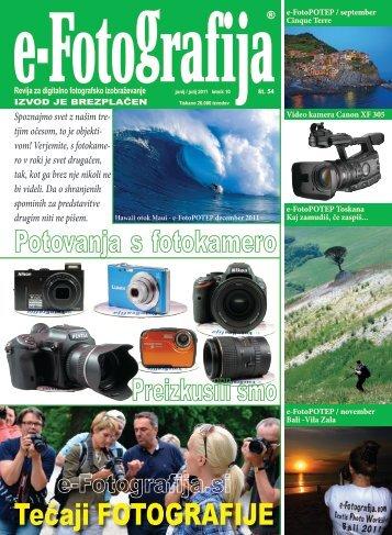 Revija e-Fotografija 54 PDF
