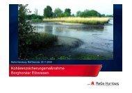 Kohärenzsicherungsmaßnahme Borghorster ... - ReGe Hamburg
