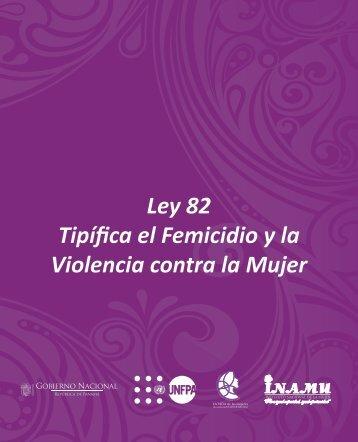 Ley del Femicidio