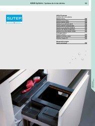 133 Abfall-Systeme / Systèmes de tri des déchets Abfall ... - Suter
