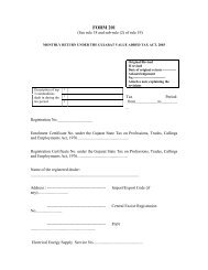 FORM 201 - Commercial Tax