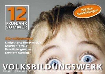 vbwKlarenthal eV - Volksbildungswerk Klarenthal e.V.