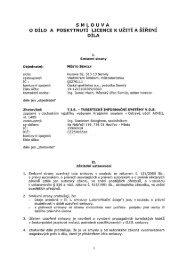 Vyhodnocení - Smlouva o dílo (04/06/2010, pdf, 234.73 kB) - Semily