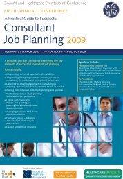 Consultant Job Planning 2009 - Royal Shrewsbury Hospitals NHS ...