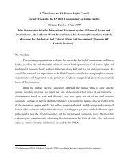 Download the joint statement on behalf of IMADR, LWF and Pax ...