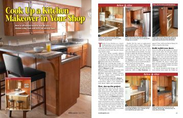Cook Up a Kitchen Makeover in Your Shop - Craftsman