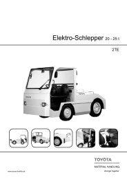 Elektro-Schlepper 20 - 25 t - Toyota Material Handling Deutschland