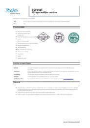 Productblad - BPG Bouwhof Groothandel