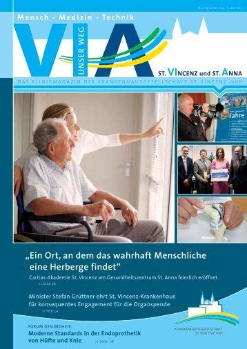 Ausgabe Nr. 4 / 2010 - St. Vincenz Krankenhaus Limburg