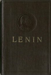 Collected Works of V. I. Lenin - Vol. 31 - From Marx to Mao