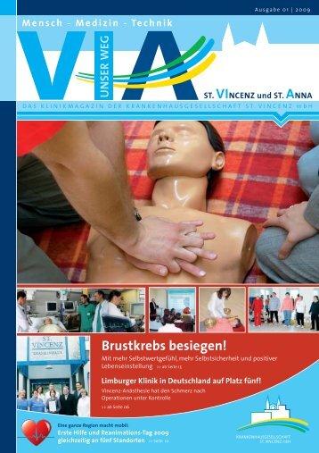 Brustkrebs besiegen! - St. Vincenz Krankenhaus Limburg