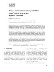Damage Identification in a Composite Plate using Prestack Reverse ...