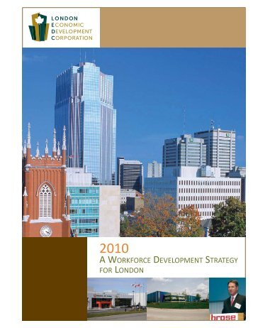 a workforce development strategy for london - London Economic ...