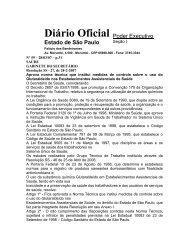 Diário Oficial - Prefeitura de São Paulo