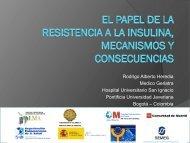 El papel de la resistencia a la insulina