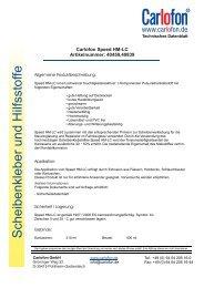 40459 / 40839 Speed HM LC - Carlofon
