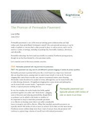 The Promise of Permeable Pavement - Sightline Institute