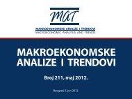 Prezentacija 211. broja časopisa ... - Ekonomski institut