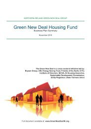 Green New Deal Housing Fund - Nicva