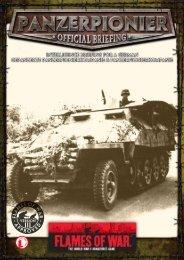 Panzerpionierkompanies - Flames of War