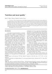 Nutrition and meat quality* - inmesbgd.com