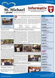 Informativ Oktober 2012 - St. Michael