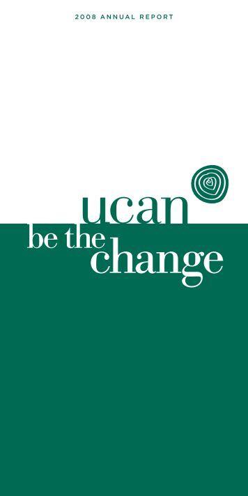2008 Annual Report - UCAN