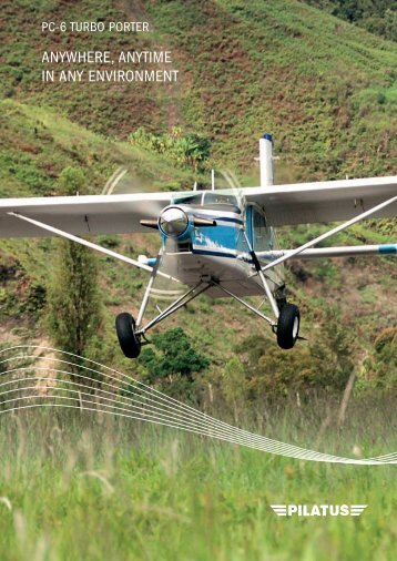 "Pilatus PC-6 ""Porter"" - Aerospace Blog"