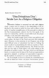 RJJ Journal of Halacha and Contemporary Society - YU Torah Online