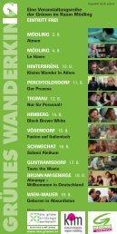 Programmfolder 2012 - Wanderkino - Die Grünen