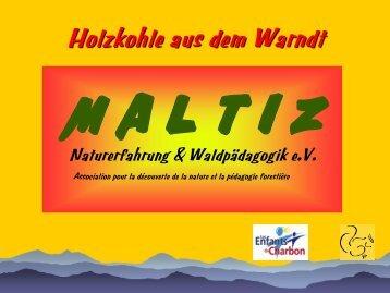 Holzkohle aus dem Kohlwald - MALTIZ Naturerfahrung ...
