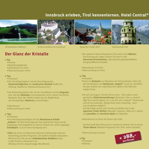 ID Central Sommer 2005d - Hotel Central