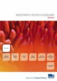Investment lifecycle guidelines 2008 - Overview (PDF 575kb)