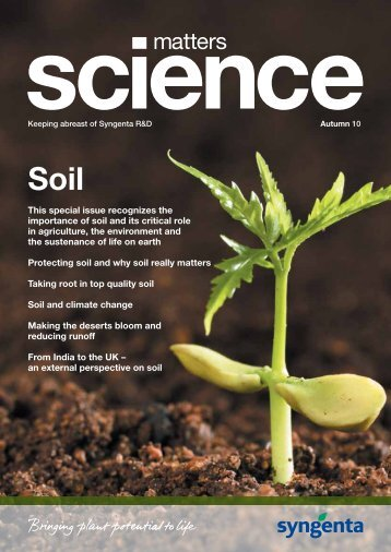 Science Matters - Syngenta