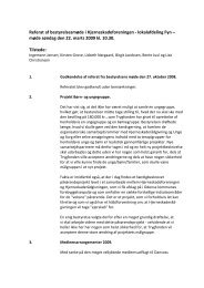 Referat af bestyrelsesmøde i Hjerneskadeforeningen - lokalafdeling ...