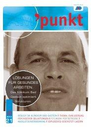 Ausgabe Nr. 21/April 2013 - Arbeitsmedizinischer Dienst Salzburg