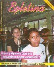 La Boletina # 54 - Sidoc