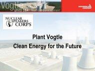 Plant Vogtle Units 3 & 4