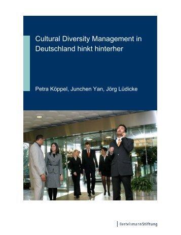 Studie: Cultural Diversity Management in Deutschland hinkt hinterher
