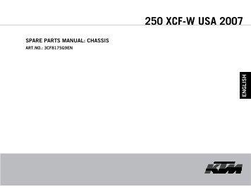 250 XCF-W USA 2007