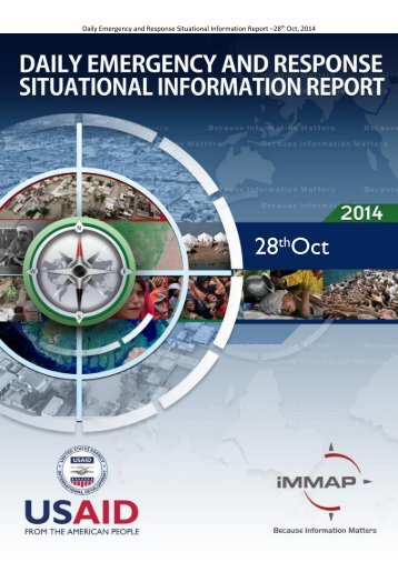Daily Emergency and Response-Situational Information Report 28th October 2014