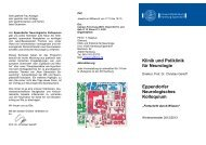 Klinik und Poliklinik für Neurologie Eppendorfer Neurologisches ...