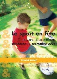 le sport en fête - Arcol Rugby