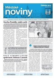 Červen - Městské noviny