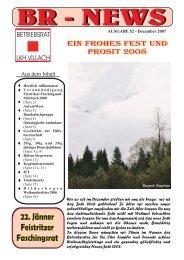 Ausgabe 52.cdr - Betriebsrat LKH Villach