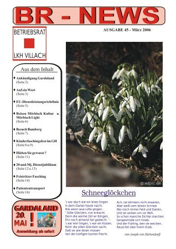 Ausgabe 45 (März 2006) - Betriebsrat LKH Villach