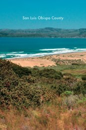 San Luis Obispo County Chapter from Experience the California ...
