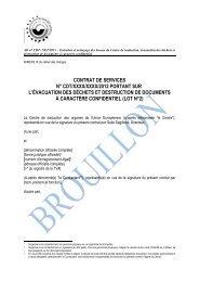 contrat de services n° cdt/xxxx/xxxx/2012 portant sur l ... - Europa